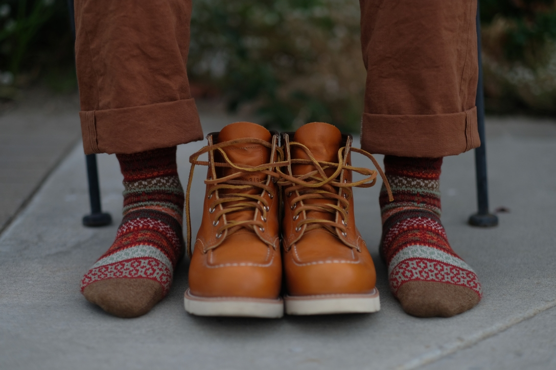 90f6312ccf6 Red Wing Heritage Irish Setter 9875 Moc Toe Boot Review – Almost ...